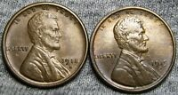 1918-S  1919-S LINCOLN WHEAT CENTS ----  LOT ----P248