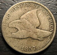 1857 FLYING EAGLE CENT  --  MAKE US AN OFFER  R4436
