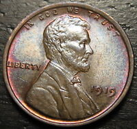 1919 P LINCOLN CENT WHEAT CENT  --  MAKE US AN OFFER  R5543
