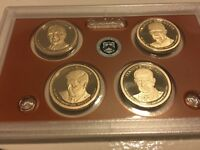 2015 S PROOF PRESIDENTIAL DOLLAR SET NO BOX OR COA