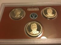 2016 S PROOF PRESIDENTIAL DOLLAR SET NO BOX OR COA