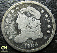 1836 CAPPED BUST DIME  --  MAKE US AN OFFER  W2891 ZXCV