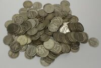 $1 FACE VALUE SILVER DIMES TEN 90  DIMES ROOSEVELT OR MERCURY  GREAT  IDEA