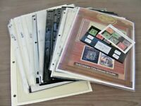 US AMAZING ASSORTMENT OF STAMPS HINGED ON PAGES & IN STOCK SHEETS