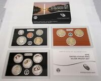 2016 US SILVER MINT    SILVER PROOF    COIN SET 13 COINS
