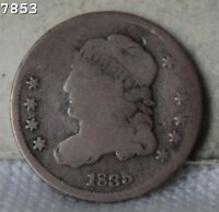 1835 SD CAPPED BUST HALF DIME  FREE S/H AFTER 1ST ITEM