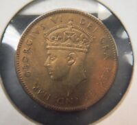 1940   UNC.   NEWFOUNDLAND  ONE CENT.