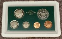 1982 RAM PROOF SET OF 6 COINS   IN ENCAPSULATED CASE WITH FO