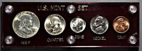 1951 P US MINT SILVER UNCIRCULATED COIN SET CAPITAL HOLDER B