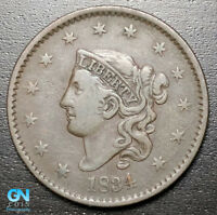 1834 CORONET HEAD LARGE CENT   --  MAKE US AN OFFER  R8705