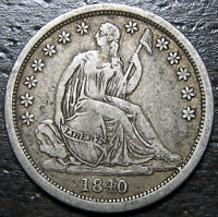 1840 P SEATED DIME  --  MAKE US AN OFFER  R6477