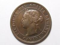 1895 CANADIAN LARGE PENNY QUEEN VICTORIA LOT B4