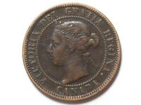 1900 NO H CANADIAN LARGE PENNY QUEEN VICTORIA LOT B7