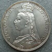 1891 GREAT BRITAIN 1 CROWN