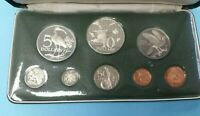 1974 TRINIDAD AND TOBAGO PROOF COIN SET STERLING SILVER WITH