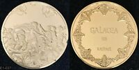 100 GREAT MASTERPIECES MEDALS  GOLD PLATED STERLING SILVER  FRANKLIN MINT