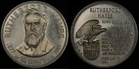 RUTHERFORD HAYES PRESIDENCY COMMEMORATIVE  FRANKLIN MINT  STERLING SILVER