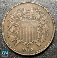 1865 2 CENT PIECE  --  MAKE US AN OFFER  R8104