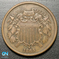 1865 2 CENT PIECE  --  MAKE US AN OFFER  R8106