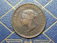 1891 CANADIAN LARGE PENNY QUEEN VICTORIA LOT B15