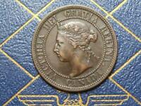 1892 CANADIAN LARGE PENNY QUEEN VICTORIA LOT B16