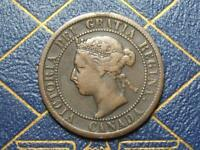 1893 CANADIAN LARGE PENNY QUEEN VICTORIA LOT B17