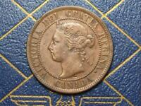 1894 CANADIAN LARGE PENNY QUEEN VICTORIA LOT B18