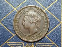 1901 CANADIAN LARGE PENNY QUEEN VICTORIA LOT B30