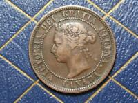 1888 CANADIAN LARGE PENNY QUEEN VICTORIA LOT B24