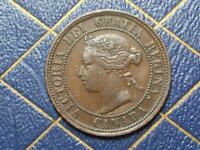 1876 CANADIAN LARGE PENNY QUEEN VICTORIA LOT B25