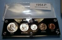 1954 SILVER SET U.S. COINS LUSTROUS MINT STATE TO CHOICE BRI