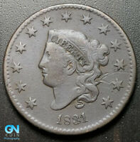 1831 CORONET HEAD LARGE CENT   --  MAKE US AN OFFER  G7009