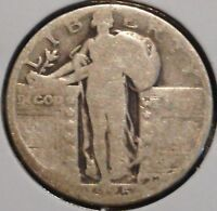 STANDING LIBERTY QUARTER - 1925 - HISTORIC SILVER - $1 UNLIMITED SHIPPING.