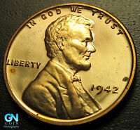 1942 PROOF LINCOLN CENT WHEAT CENT  --  MAKE US AN OFFER  G5285