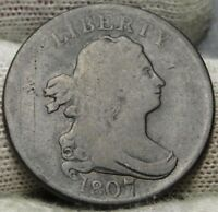 1807 DRAPED BUST HALF CENT -  COIN, SHIPS FREE  7324