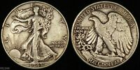 1943 WALKING LIBERTY HALF DOLLAR  LIGHTLY CIRCULATED  SILVER COIN