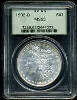 1903-O $1 MORGAN SILVER DOLLAR MINT STATE 63 PCGS 2444373