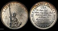 LIBERTY MINT  ARTICLE 1 SECTION 10 CONSTITUTION  SILVER 1 OZT .999 ART ROUND