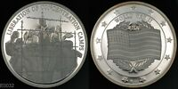 WWII LIBERATION OF CONCENTRATION CAMPS  STERLING SILVER PROOF