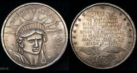 STATUE OF LIBERTY  SILVER 1 OZT .999 ART ROUND