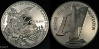 200TH ANNIVERSARY OF THE BATTLE OF BUNKER HILL  STERLING SILVER PROOF