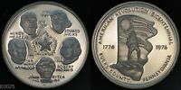 AMERICAN REVOLUTION BICENTENNIAL BUCK COUNTY PA  STERLING SILVER PROOF