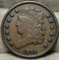 1835 CLASSIC HEAD HALF CENT -  COIN- ONLY 398,000 MINTED 7366