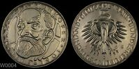 GERMANY 1968 D 5 MARK PROOF  MAX V.PETTENKOFER  WORLD SILVER