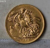 1925 GREAT BRITAIN 1 SOVEREIGN GOLD