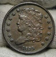 1835 CLASSIC HEAD HALF CENT -  COIN- ONLY 398,000 MINTED 6561
