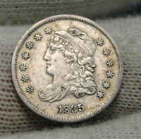 1835 CAPPED BUST HALF DIME H10C,  COIN, SHIPS FREE 8293