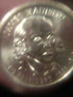 2007 D JAMES MADISON PRESIDENTIAL DOLLAR COIN SHIPS FREE