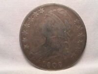 1808/7  CAPPED BUST HALF DOLLAR