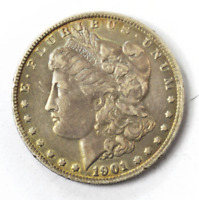 1901 O $1 MORGAN SILVER ONE DOLLAR NEW ORLEANS PRIVATELY MADE VAM 60